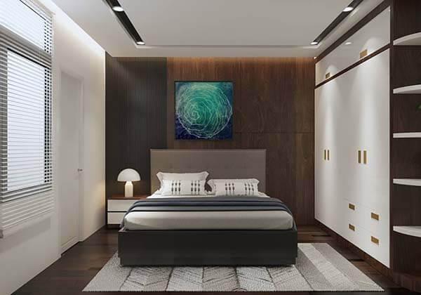 Thiết kế nội thất nhà rộng 6m dài 10m