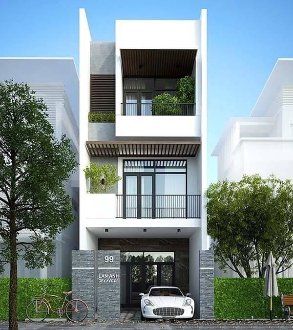 Thiết kế nhà 30m2 5x6