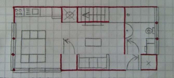 Thiết kế nhà ngang 10m sâu 5m
